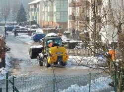 Schneeräumung in Neumarkt am Wallersee